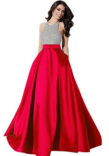 dc53a2ebad53a A beautiful hand picked just for a women like you Muta Fashions Women s  Satin Gown (GOWN00036 05  Red Free Size) – fashion clothing for women at  just 499.00 ...
